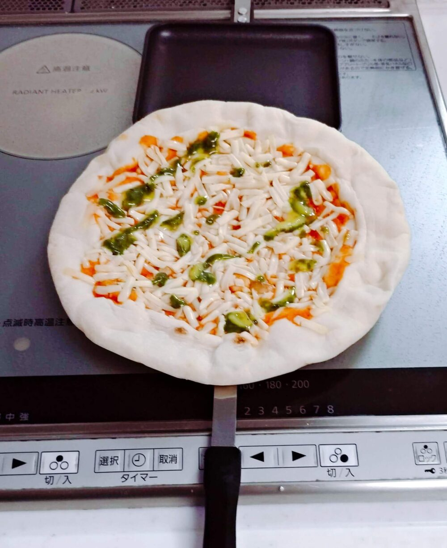 ih対応ホットサンドメーカーでピザを焼く方法